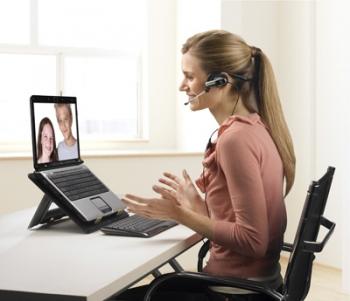 Computer accessoires om in contact te blijven.